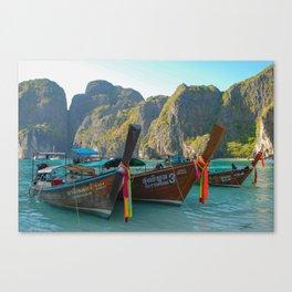 Maya Bay Canvas Print