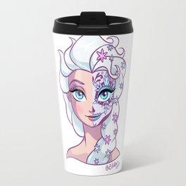 Sugar Skull Series: Queen of Snow Travel Mug