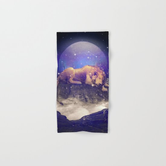 Under the Stars III (Leo) Hand & Bath Towel