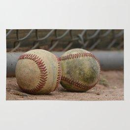 Baseballs Rug