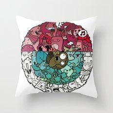 EYE!!! Throw Pillow