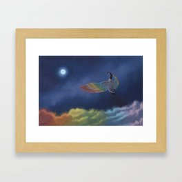 Fly On Framed Art Print