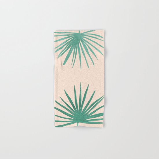 Petticoat Palms Hand & Bath Towel