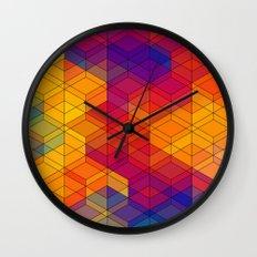 Cuben Intense No.1 Wall Clock