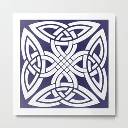 Celtic traditional art Metal Print