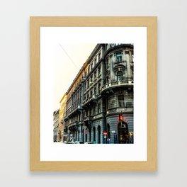 Budapest Building Framed Art Print