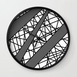 Lazer Dance G Wall Clock