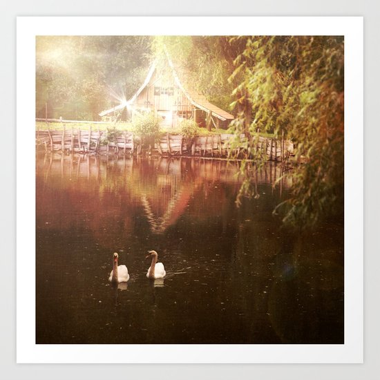 There's a Hose in the Forest Art Print