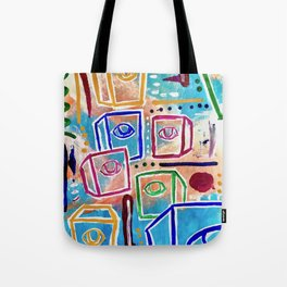 Greigs in the sky Tote Bag