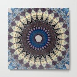 New Color Pyramidal Mandala 7 Metal Print