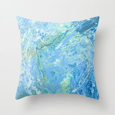 Mary's wave. Throw Pillow
