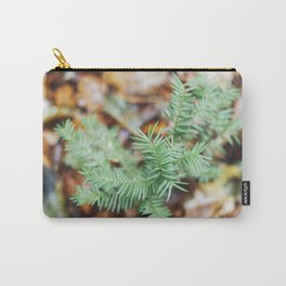 Tiny pine tree growing in the forest Carry-All Pouch