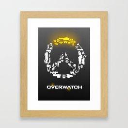 Heroes need weapons Framed Art Print