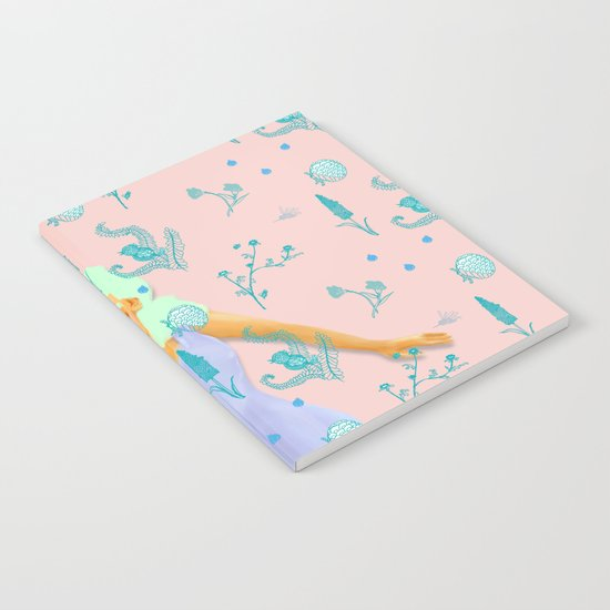 Design Based in Reality Pink Notebook