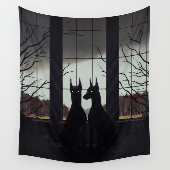Sentinels Wall Tapestry