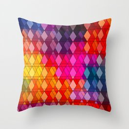 Stained Glass # 1 Throw Pillow