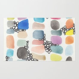 colorful stones Rug
