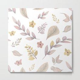 Flower Design Series 14 Metal Print