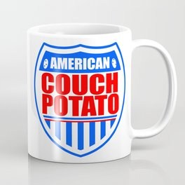 American Couch Potato Coffee Mug