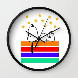 Snoopy sleep Wall Clock
