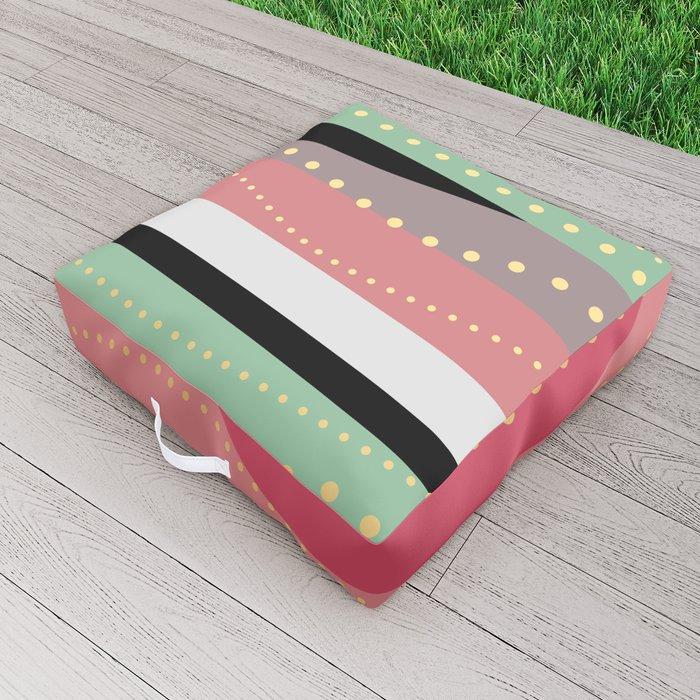 WAVING COLORS Outdoor Floor Cushion