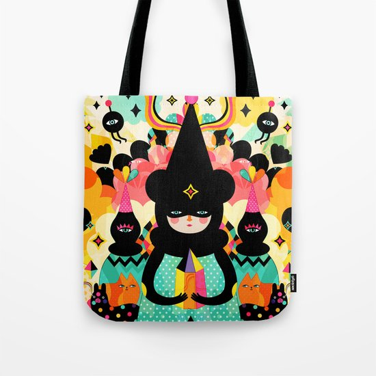 Magical Friends Tote Bag