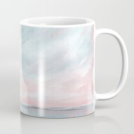 Waves of Change - Stormy Sea Seascape Coffee Mug