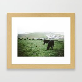 Jurassic Coast 4 Framed Art Print