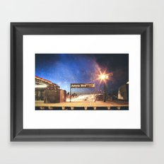 Astoria Blvd Framed Art Print
