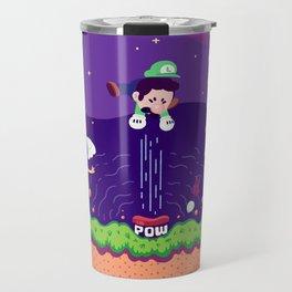 Tiny Worlds - Super Mario Bros. 2: Luigi Travel Mug