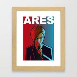 ARES Framed Art Print