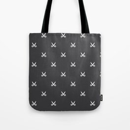 Scissors pattern Tote Bag
