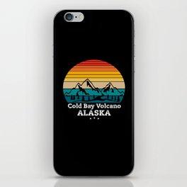 Cold Bay Volcano Alaska iPhone Skin