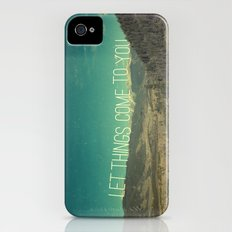Let Things Come To You Slim Case iPhone (4, 4s)