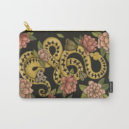 Snake and moths Carry-All Pouch