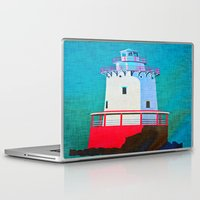 lighthouse Laptop & iPad Skins featuring Lighthouse by Judy Palkimas