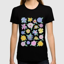 Hand Drawn Flowers T-shirt