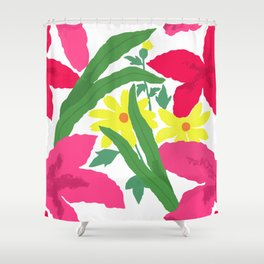 Floral Chorus1  Shower Curtain