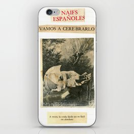 VAMOS A CERE-BRARLO! iPhone Skin