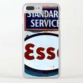 Filling Station Clear iPhone Case