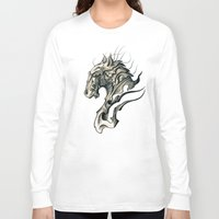horse Long Sleeve T-shirts featuring Horse by Nuam