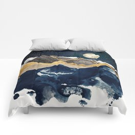 Midnight Winter Comforters