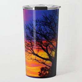 Pinks  n Purples thu Boab Travel Mug