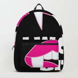 I wont bite Backpack