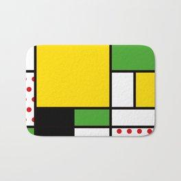 Mondrian – Bycicle Bath Mat