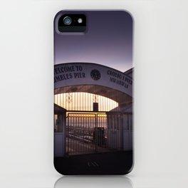Dawn at Mumbles Pier iPhone Case