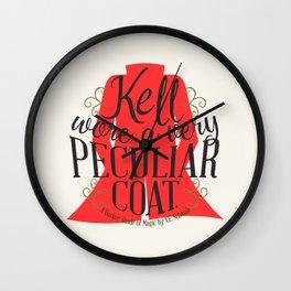 Peculiar (original) Wall Clock