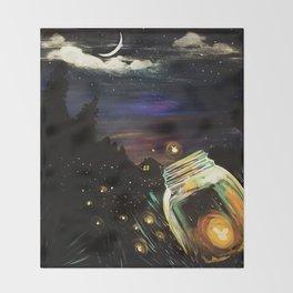 Firefly Sky Throw Blanket
