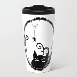 Familiar and Friend Up Close Travel Mug