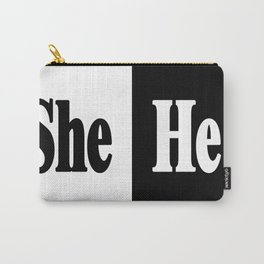 She vs He Carry-All Pouch